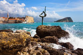 Budva bay-1 — Stock Photo