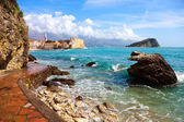 Budva bay — Stock Photo