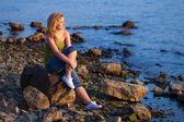 Woman&coast-37 — Stock Photo