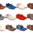 Male footwear collection-4 — Stock Photo