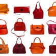 Female bags collection — Stock Photo #33927605