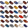 Stock Photo: Male shoes collection