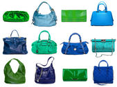 Female bags collection — Zdjęcie stockowe