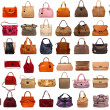 Female bags collection — Stock Photo #34834313