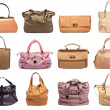 Female bags collection — Stock Photo #34859641