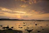 Sunrise over the Black Sea in Bulgaria — Stock Photo