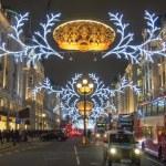 Londra Noel dekorasyonu 2012 — Stok fotoğraf