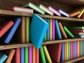 Bookcase — Stockfoto