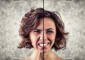 разные эмоции — Стоковое фото