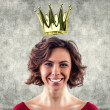 Girl with a crown — Stock Photo #19546983