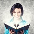 Girl with book — Stock Photo #21538119