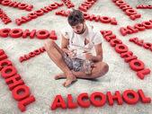 Alcoholic — Stock Photo