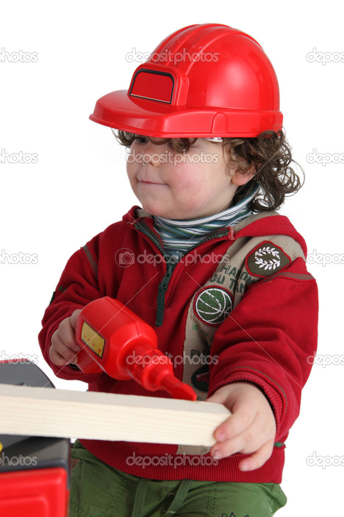 http://st.depositphotos.com/1192060/1015/i/950/depositphotos_10155471-Little-boy-with-toy-drill-pretending-to-be-workman.jpg