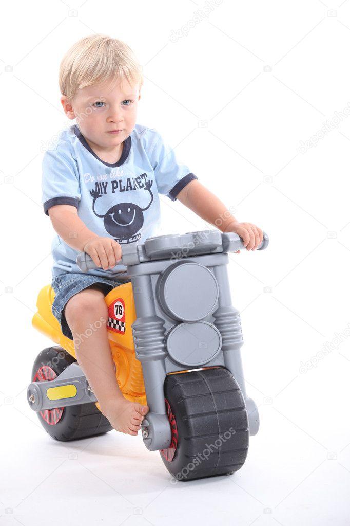 little boy on motorcycle - photo #19