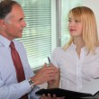 Boss and assistant — Stock Photo #13783229