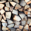 A stack of firewood — Stock Photo #13826032
