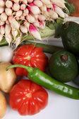 Variety of fresh vegetables — Stock Photo
