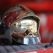 Stock Photo: Brass fireman