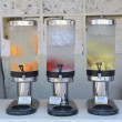 Stock Photo: Drinks dispensers