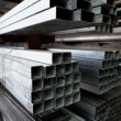 Steel joists — Stockfoto