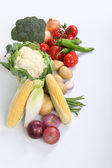 Close-up of vegetables — Foto de Stock