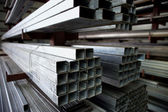 Steel joists — Stock Photo
