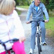 Senior biking — Stock Photo #14030032