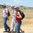 Middle-aged hikers — Stock Photo