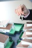 Keys handover — Stock Photo