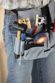Workers tool belt — Stock Photo