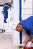 Electrical repairs — Stock Photo