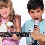 Kinder Musizieren — Stockfoto