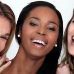 Laughing young women — Stock Photo #14144146