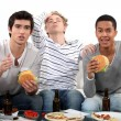 Lads watching television — Stock Photo #14144768