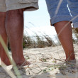 Walking on a sand dune — Stock Photo #14148827