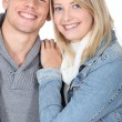 Happy young couple — Stock Photo #14158797