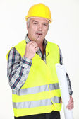 Mature foreman — Stock Photo