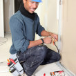 Electrician working — Stock Photo #14247057