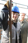 Builder et apprenti — Photo