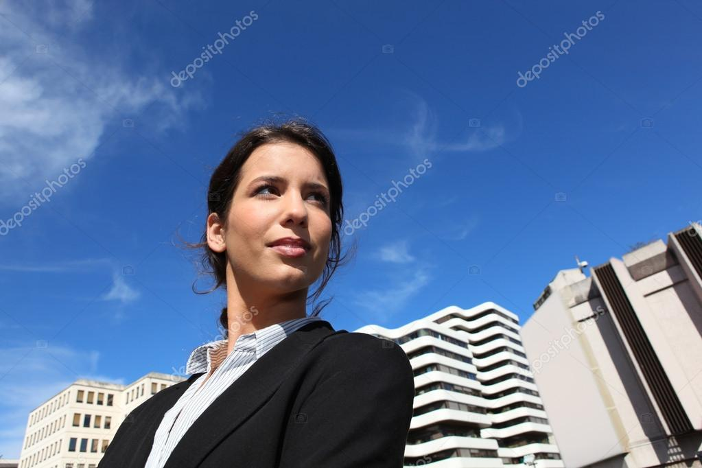 Young woman student in law — Stock Photo #14251027