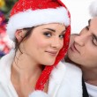Couple in Christmas — Stock Photo #14264713