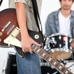 Rock band — Stock Photo