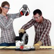 Do it yourself : couple — Stock Photo #14273169
