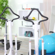 Foto Stock: Fitness room