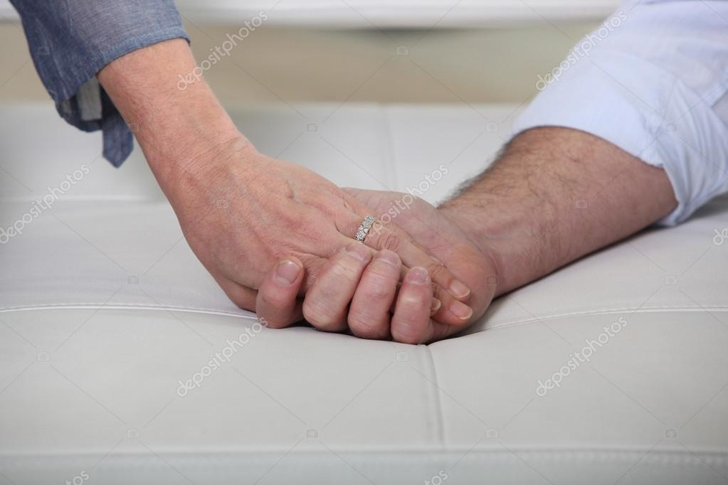 Hand in hand — Stock Photo #14276287