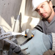 Stock Photo: Plumber working