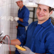 Royalty-Free Stock Photo: Young electricians