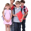 School children — Stock Photo #14557933