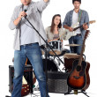 Royalty-Free Stock Photo: Music band