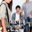 Stock Photo: Rock band